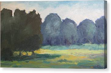 Arkansas Meadow Canvas Print by Sharon Franke