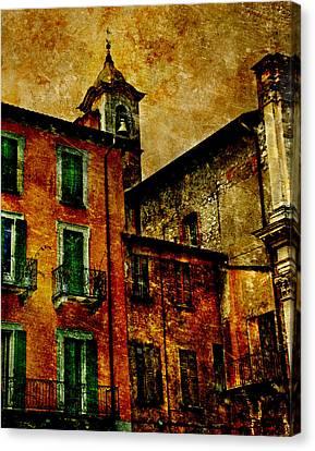 Arona Italy Canvas Print by T J Hankins