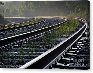 Canvas Print featuring the photograph Around The Bend by Douglas Stucky