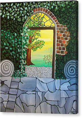 Arthurs Gate Canvas Print