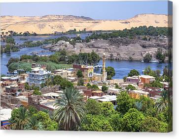 Aswan - Egypt Canvas Print by Joana Kruse