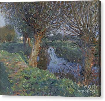 At Calcot Canvas Print by John Singer Sargent