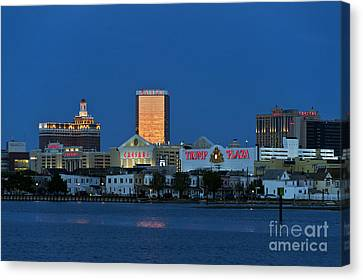 Atlantic City Skyline Canvas Print by John Greim