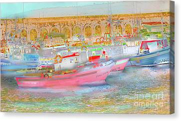 Canvas Print featuring the photograph Atlantico by Alfonso Garcia