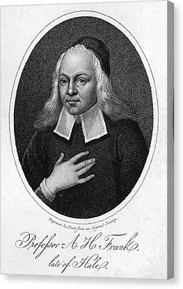 August Hermann Francke Canvas Print by Granger