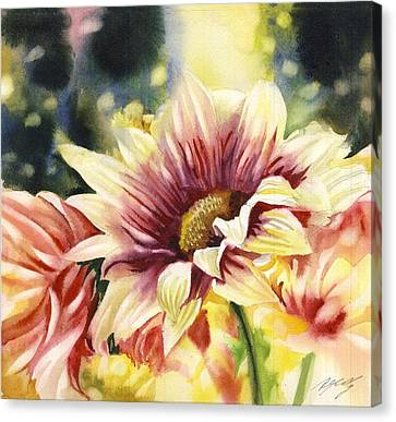 Autumn Chrysanthemum Canvas Print by Alfred Ng
