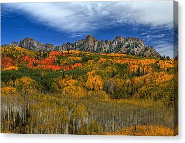 Autumn Crown Canvas Print by Bill Sherrell