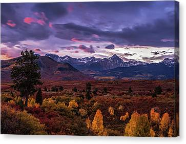 Autumn In The Mountains Canvas Print by Andrew Soundarajan