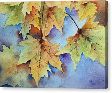 Autumn Splendor Canvas Print by Bobbi Price