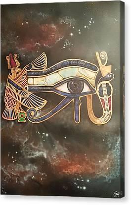Awaken Canvas Print by Reshef Shabazz
