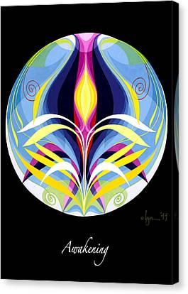 Survivor Art Canvas Print - Awakening by Angela Treat Lyon
