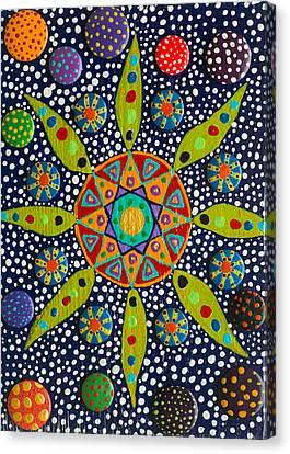 Ayahuasca Vision Canvas Print