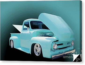 Canvas Print featuring the photograph Baby Blue 2 by Jim  Hatch