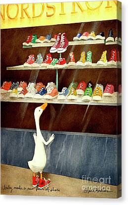 baby needs a new pair of shoes...PRINT Canvas Print