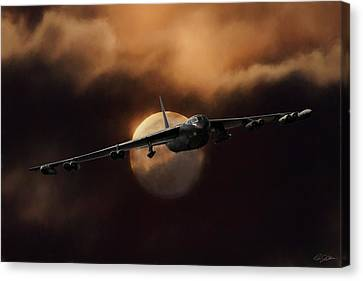 Bad Moon Rising Canvas Print by Peter Chilelli
