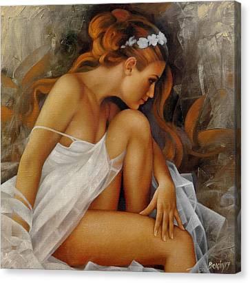 Ballerina Canvas Print by Arthur Braginsky