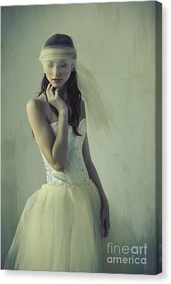 Ballet Dancers Canvas Print - Ballerina by Diane Diederich