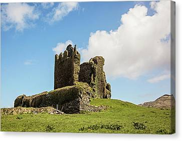 Ballycarbery Castle Ruins Canvas Print