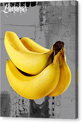 Banana Canvas Print - Banana Collection by Marvin Blaine