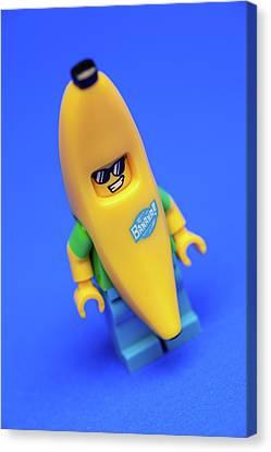 Banana Man Canvas Print