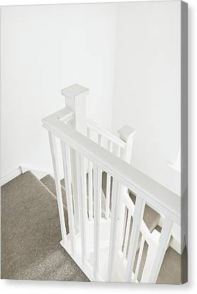 Bannister Canvas Print by Tom Gowanlock