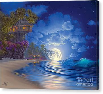Banyan Moon Canvas Print