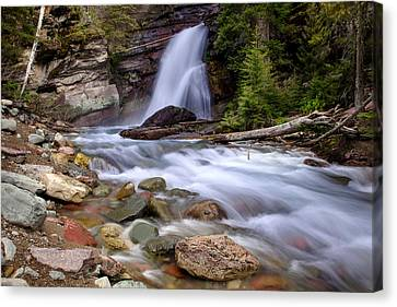 Baring Falls Canvas Print by Jack Bell