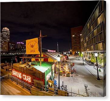 Barking Crab Boston Ma Canvas Print by Toby McGuire