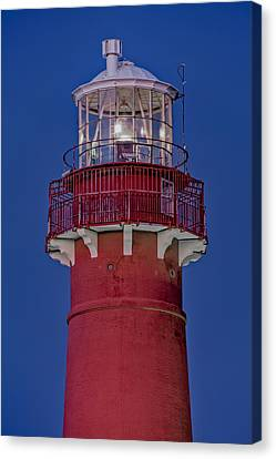Barnegat Lighthouse Canvas Print by Susan Candelario