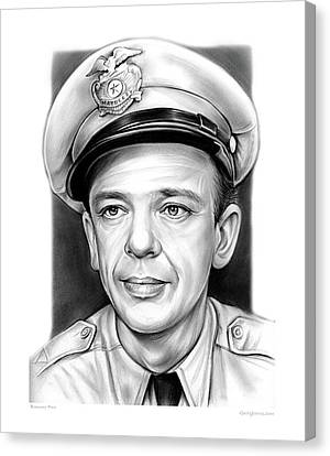 Barney Fife Canvas Print by Greg Joens