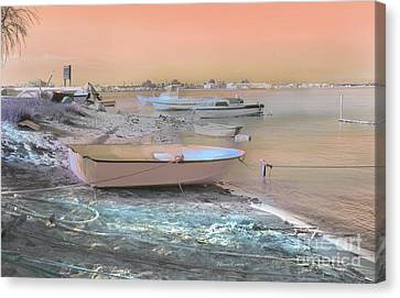 Canvas Print featuring the photograph Barriada Canela by Alfonso Garcia