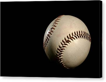 Baseball Ball Canvas Print by Felix M Cobos