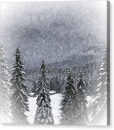 Bavarian Winter's Tale I Canvas Print