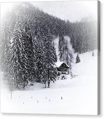 Bavarian Winter's Tale Ix Canvas Print