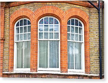 Bay Window Canvas Print by Tom Gowanlock