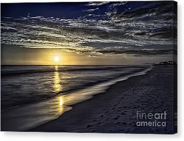Beach Sunset 1021b Canvas Print