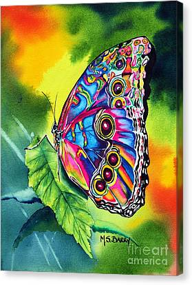 Beatrice Butterfly Canvas Print by Maria Barry