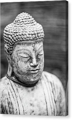 Beautiful Buddha Statue Portrait With Shallow Depth Of Field For Canvas Print