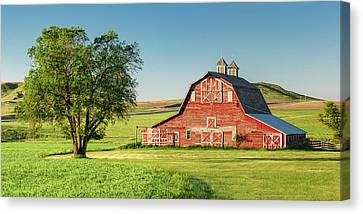 Shed Canvas Print - Beautiful Rural Morning by Todd Klassy