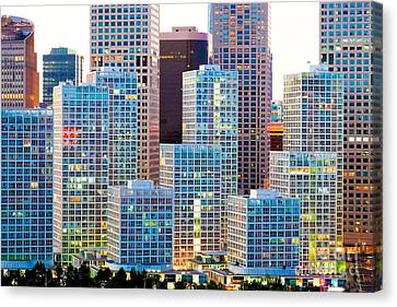 Beijing Central Business District Canvas Print