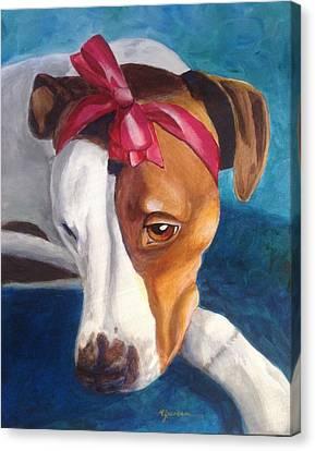 Canvas Print - Bella by Marilyn Jacobson