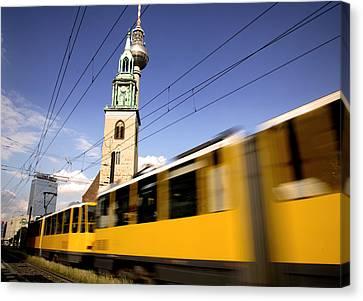 Berlin Tram Canvas Print