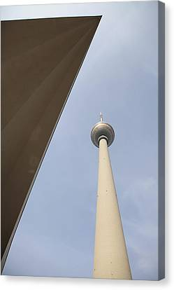 Berlin Tv Tower Canvas Print