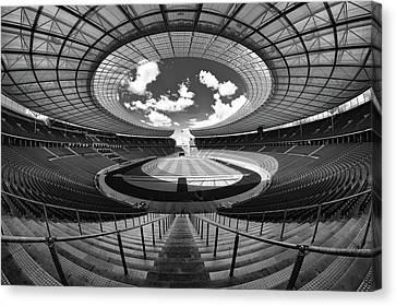 Berlin's Olympic Stadium Canvas Print by 3093594