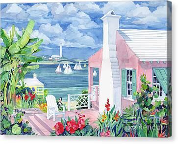 Bermuda Cove Canvas Print by Paul Brent