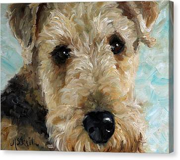 Best Friend Canvas Print by Mary Sparrow