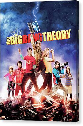 Big Bang Theory 2007 Canvas Print by Unknown