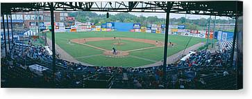 Bill Meyer Stadium, Aa Southern League Canvas Print by Panoramic Images