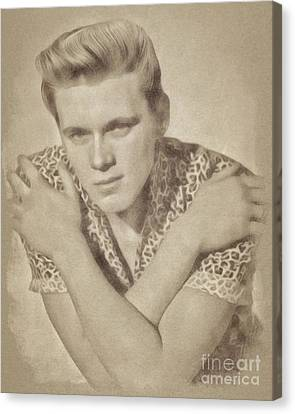 Billy Fury, Singer Canvas Print