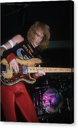 Billy Sheehan Of Talas Canvas Print by Rich Fuscia